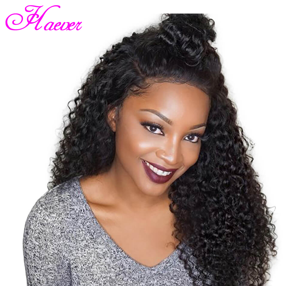 Curly Human Hair Wigs With Baby Hair Bleached Knots Brazilian Remy Hair 13X4 Lace Front Wigs Pre-Plucked 150% Density(China)