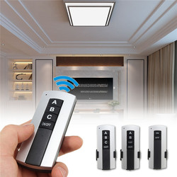 1 2 3 sposób 220 V cyfrowy inteligentny przełącznik zdalnego sterowania oświetlenie LED 220 V bezprzewodowy Splitter Sub- kontroli