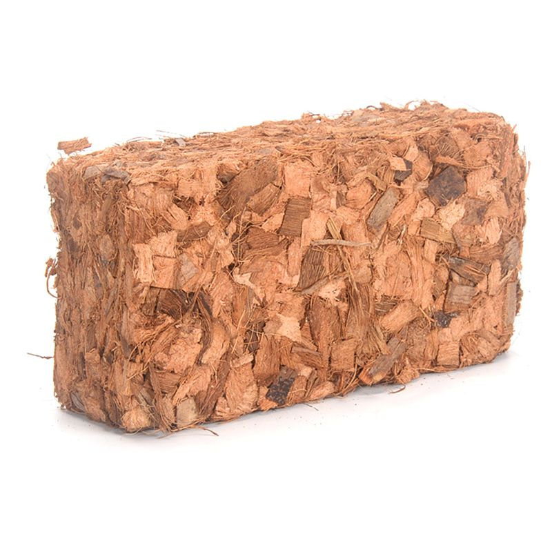 500g Coconut Coir Brick Peat Growing Organic Soilless Potting Garden Natural Plants Soil Nutrient Bed