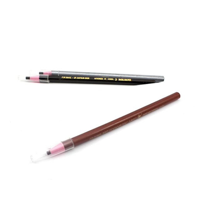 Soft Cosmetic Makeup Safe on Skin Eyebrow Pencil with Tearing Thread 5