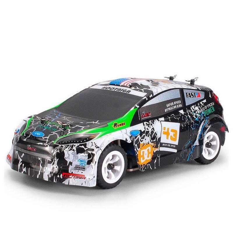 Wltoys K989 1:28 RC Voiture 2.4G 4WD moteur brossé 30 KM/H haute vitesse RTR RC dérive Voiture alliage télécommande Voiture Telecommande - 4
