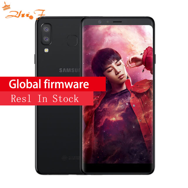 Samsung Galaxy A9 G8850 4G LTE Mobile Téléphone 4 GB RAM 64 GO ROM Android 8.0 Double Caméra Arrière 16MP 24MP Téléphone