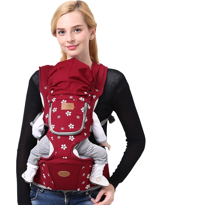 2018 Ergonomic Baby Carrier Four Seasons Multifunctional Baby Waist Stool Baby Slings For Baby BBL1516 цены онлайн