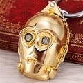 H & F Venta Caliente llaveros Casco de Star Wars Darth Vader llavero Colgante de Los Encantos Accesorios llaveros porte clef para el Hombre