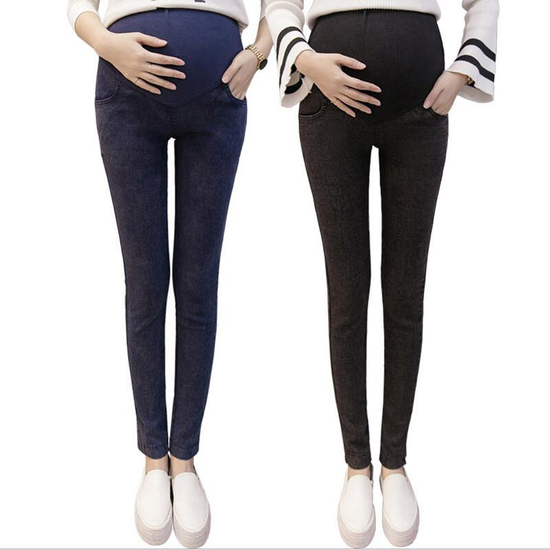Celana Jeans Ibu Hamil Untuk Wanita Hamil Kehamilan Legging Pakaian Peregangan Celana Hamil Wanita Memakai Legging Baru In Celana Jeans From Ibu Anak On Aliexpress