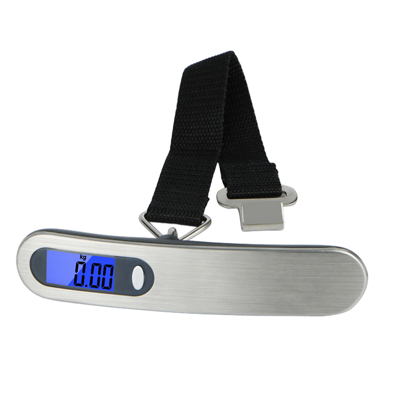 Portable 50kg x 10g Mini digital Scale for Fishing Luggage Travel Weighting Steelyard Electronic Scale Kitchen Weight Tool image