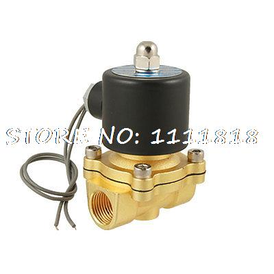 2W-160-15 2 Ports Pneumatic Water Solenoid Valve AC220V 1 2 built side inlet floating ball valve automatic water level control valve for water tank f water tank water tower