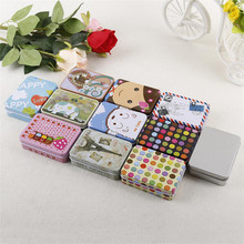 4YANG Colorful Mini Box Sealed Jar Packing Boxes Jewelry, Candy Box Small Storage Boxes Coin Earrings Headphones Storage Boxes
