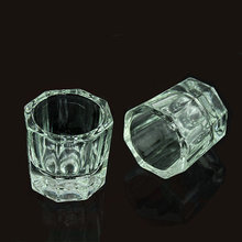 1pcs Acrylic Liquid Holder Glass Dappen Dishes Empty Acrylic Jar Refillable Bottle Nail Art Manicure Tools for Acrylic Liquid цена в Москве и Питере