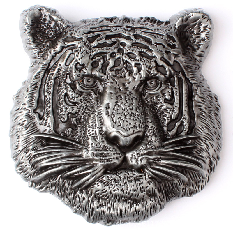 Tigers' Scalp With Buckled Animal Belt