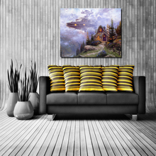 Thomas Kinkade Wallpaper Wall Art Canvas Posters And Prints Canvas Painting Decorative Picture For Office Living Room Home Decor poster vintage wallpaper wall art canvas posters and prints canvas painting decorative picture for office living room home decor