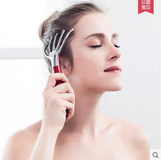 Ykang Head Massager Electric Octagonal Head Massage Instrument Scalp Massage Claw Massage Comb Brain Relaxed Kneading chargeable brain massage instrument head kneading massager head massager prevent hair loss promote hair growth
