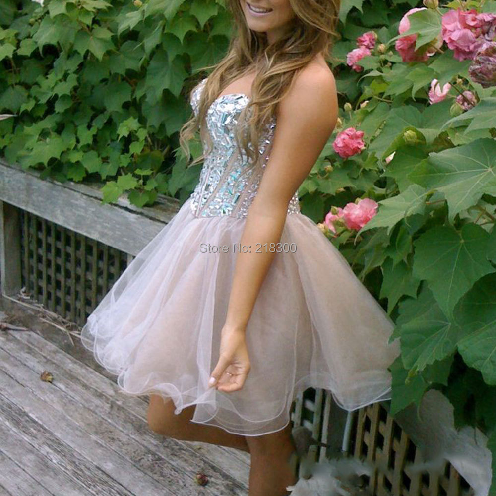 Popular Poofy Homecoming Dresses-Buy Cheap Poofy Homecoming ...