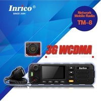 2018 newest GSM WCDMA 3G PTT mobile radio transceiver for car with SIM card and WiFi TM 8 3G network two way radio