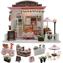 Кукольный домик cutebee миниатюрная мебель «сделай сам» миниатюрный