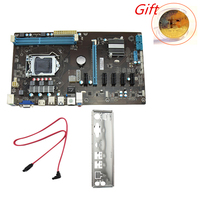 Stable 6 GPU Riser PCI Mining Machine Motherboard Board Bitcoin PCI Express 16X Miner Board ATX