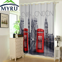 MYRU [55″x102″ ] 3D British Curtains Made ready 1 PANEL LINED THERMAL BLACKOUT GROMMET WINDOW CURTAIN DRAPE Curtains With London