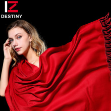 DESTINY 2017 Winter Women Scarf Female Luxury Brand Scarves Fashion Lady Tassel Bandana Shawl Tippet Pashmina Cashmere Foulard