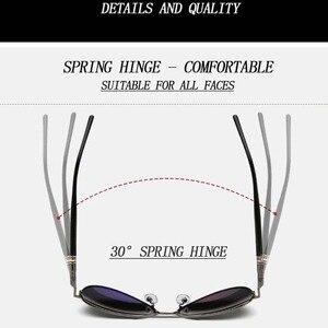 Image 5 - Los hombres de la marca diseñador gafas piloto polarizado gafas de sol, gafas, gafas de sol masculino para hombre gafas conductor