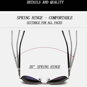 Image 5 - Mens Sunglasses Brand Designer Pilot Polarized Male Sun Glasses Eyeglasses gafas oculos de sol masculino For Man Driver Glasses