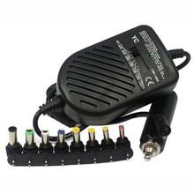 80 Вт DC Порт USB LED Авто Автомобильное Зарядное Устройство Регулируемый Источник Питания Набор адаптеров 8 Съемные Заглушки Для Портативный Ноутбук Лучшая Цена Jan5