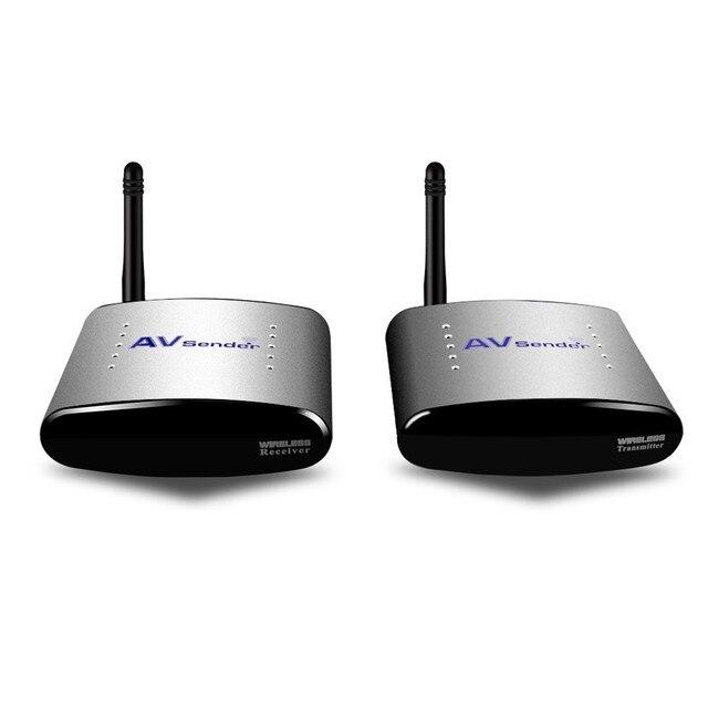 2016 nova 4 canais 2.4 G sem fio AV transmissor com controle IR kit de áudio vídeo receptor transmissor sem fio PAT-220