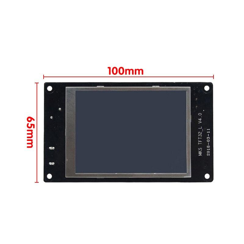 CHAUDE Pour MKS GEN L compatible avec TFT32 écran lcd Soutien TMC2208 Moteur Pilote 3D Kits D'impression livraison directe