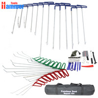 PDR Tool Hook Rods Paintless Dent Repair Auto Tools Set Automobile Body Car Door
