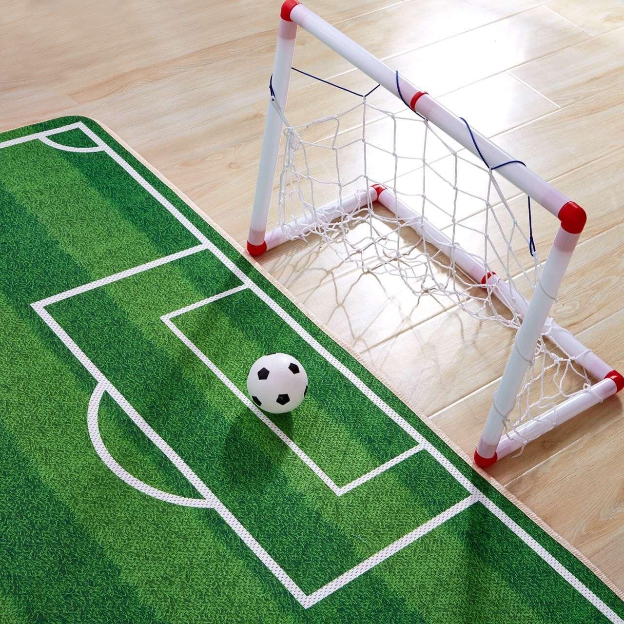 aliexpress : 3d kinder teppich fußball teppich jogging, Schlafzimmer entwurf