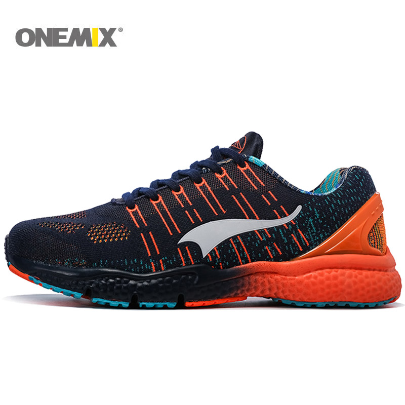 da6fddfb8bb2a Nueva Marca Onemix zapatillas de tenis para hombre zapatillas deportivas  para mujer Zapatillas deportivas al aire libre transpirable alta calidad  envío ...