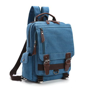 Image 3 - BERAGHINI New Fashion Men Backpack Canvas Women ckpacks School Bag Unisex Travel Bags Large Capacity Travel Laptop Backpack Bag