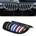 Dupla Ripas ABS Grade Dianteira Para BMW Série X X4 X3 F25 F26 2014 2015-em Três Cores M olhar