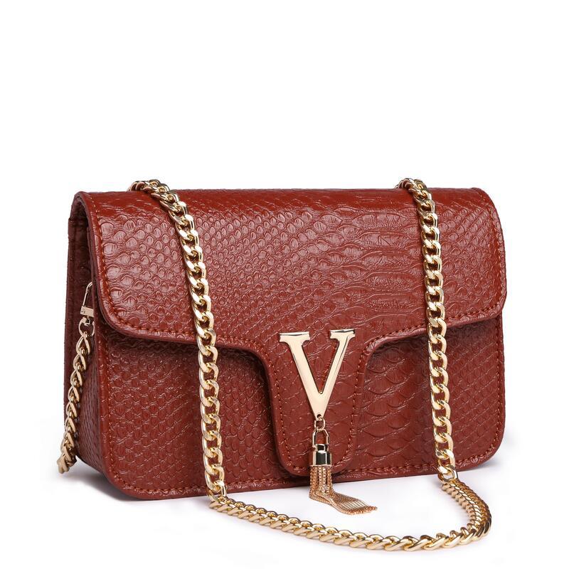 7a44e74ff1f US $18.95 49% OFF|Leather bags for women 2019 luxury handbags women bags  designer spring chain women's bag famous brand bolsa feminina big wallet-in  ...