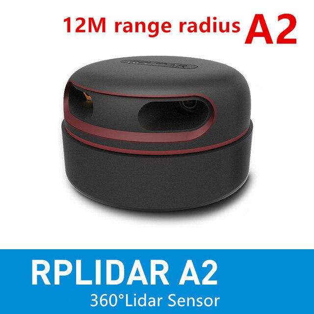 Slamtec RPLIDAR A2 2D 360 度 12 メートル走査半径 lidar センサー障害物回避とナビゲーションの AGV UAV