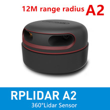 Slamtec RPLIDAR A2 2D 360degree 12 meters scanning  radius lidar sensor scanner for obstacle avoidance and navigation of AGV UAV