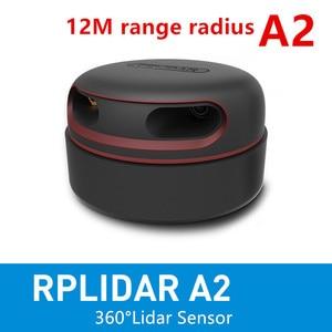 Image 1 - Slamtec RPLIDAR A2 2D 360degree 12 meters scanning  radius lidar sensor scanner for obstacle avoidance and navigation of AGV UAV