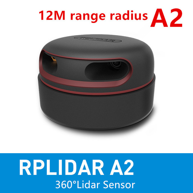 Slamtec RPLIDAR A2 2D 360degree 12 meters scanning  radius lidar sensor scanner for obstacle avoidance and navigation of AGV UAV