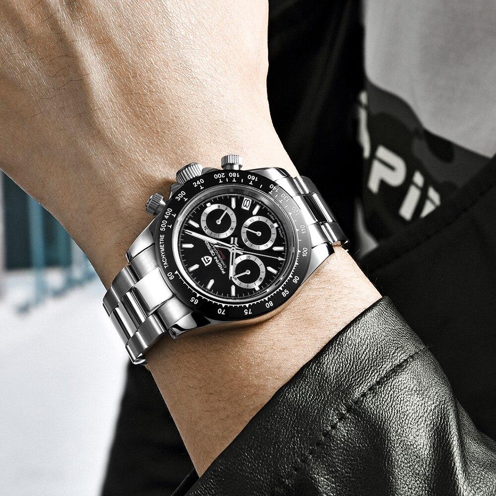 PAGANI DESIGN 2019 marque hommes sport montre à Quartz de luxe hommes étanche montre bracelet nouvelle mode montre décontractée pour homme relogio masculino - 4