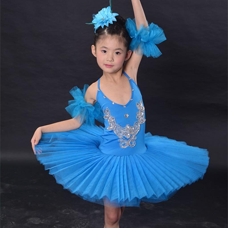 New Girls Classical Ballet Tutu Dress Children Swan Lake Ballet Costume Kids Performance Ballet Dance Dress