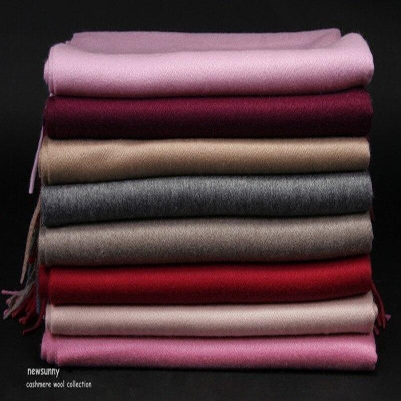 100% козья кашемир воды пульсация тканые шарфы из толстой пряжи шаль пашмины для мужчин женщин 22 цвета 70x200 см Розничная и оптовая продажа