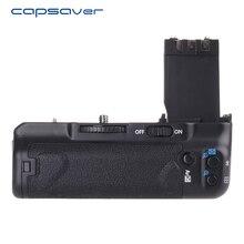 Capsaver Vertical Aperto Da Bateria para Canon EOS 350D 400D Rebel XT Xti BG-E3 DSLR Camera Substitua Suporte Da Bateria