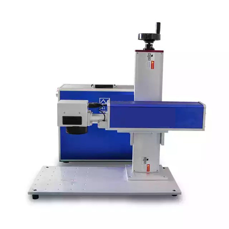 20 W Laser Fiber Laser Raycus  Mini Desktop Yag Laser Fiber  Laser Marking Machine Metal