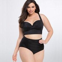 Swimwear Women Plus Size Bikini Swimsuit Woman Bikinis 2019 Mujer Swimming Suit For Women Bathing Suit Push Up High Waist Female