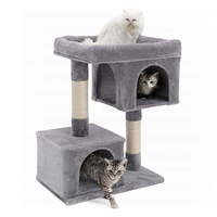 Кот дерево башня Cat дерево восхождение дерево для прыжков кошек Игрушка царапин кошек подняться товары для домашних животных игровое обуче