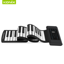 High quality 61 Keys Roll up Flexible Electronic Keyboard Piano used for kids music instruments toys and musical tool