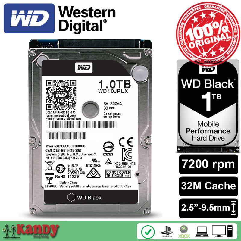 все цены на Western Digital WD Black 1TB hdd 2.5 WD10JPLX SATA 3 laptop internal sabit hard disk drive interno hd notebook harddisk disque онлайн