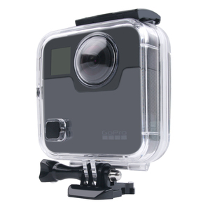 Image 4 - 40M Waterproof Housing Case Back Door For Gopro Fusion 360 Camera Underwater Box For Go Pro Fusion Action Camera Accessories
