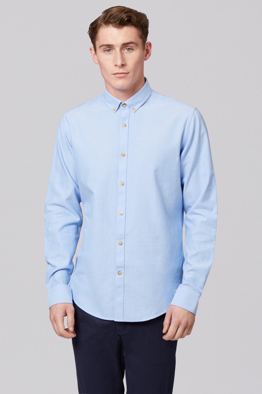 1 New arrving  high quality 100% Cotton mens bespoke mens pin collar shirt   (2)