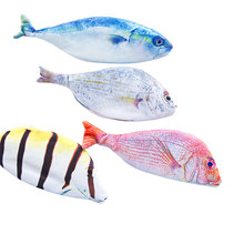 Creative Fish Shape Pencil Pouch Kawaii Student Fabric Pencil Bags School Supplies Stationery Hot Pen Box Gift(China)