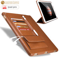For Apple Ipad Pro Pu Leather Cover Protective Case For Ipad Pro Leather Case Stand Mount